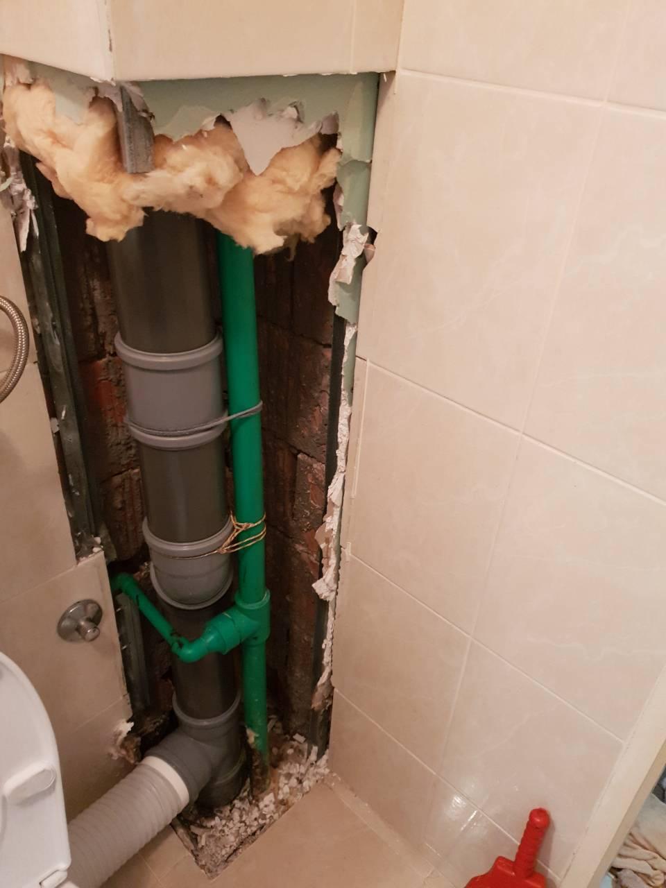 saniranje vodovodne vertikale u zgradi